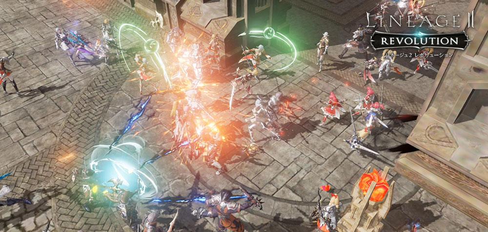 リネージュ2レボリューション ゲーム画面